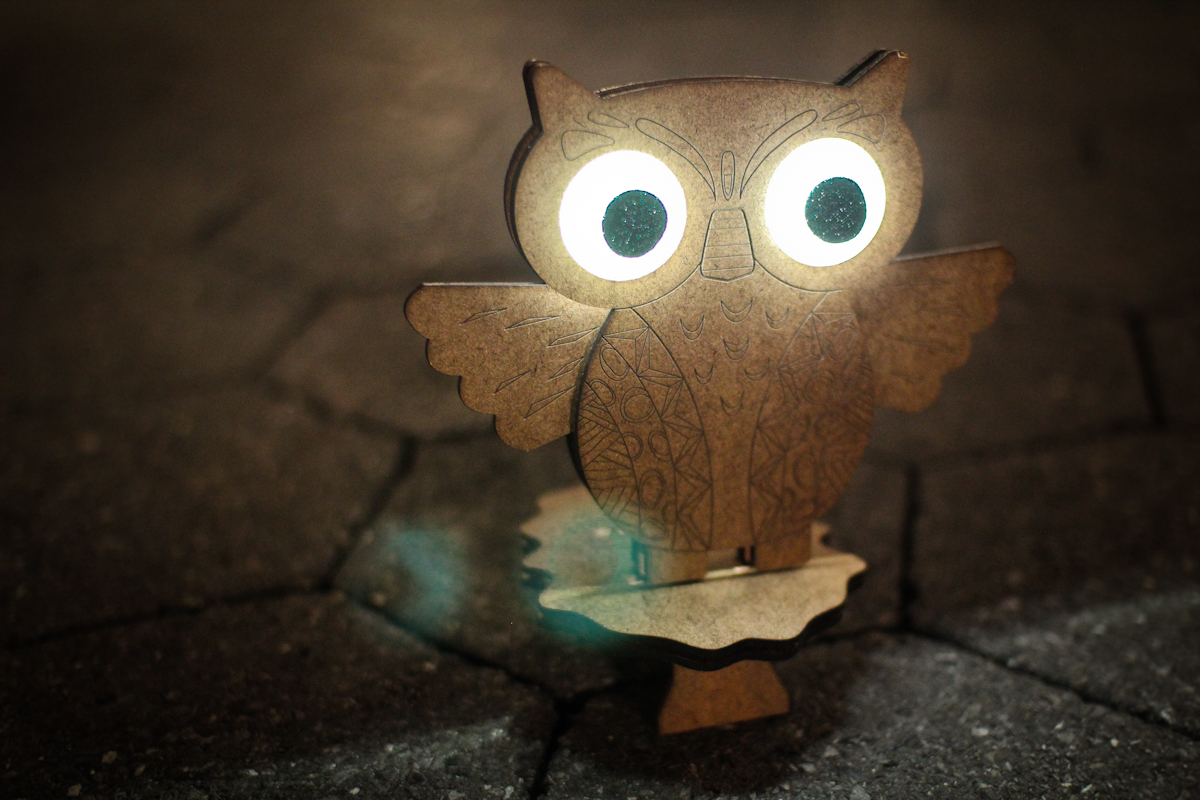 Cute Magnetic Owl Lamp