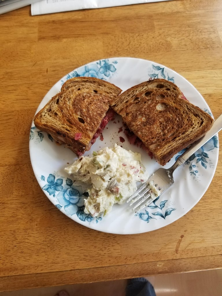 The Perfect Reuben Sandwich