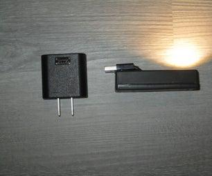 交流电源故障,电池支持LED路径灯