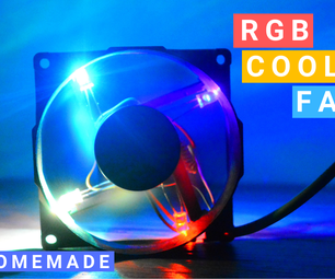How to Make RGB LED Fan for Computer