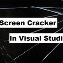 How to make a C# application which turns your screen into a cracked one