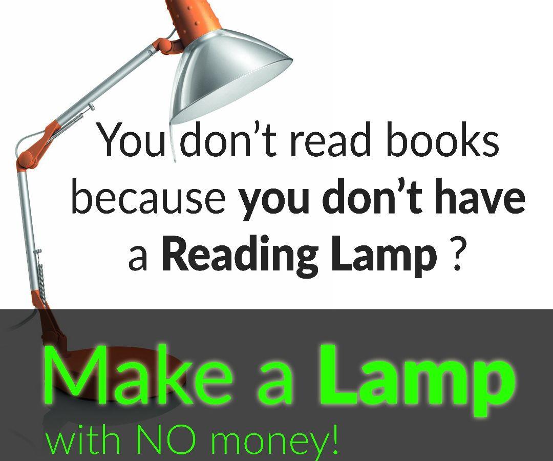 Make an amazing Reading Lamp