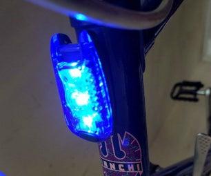 Magnetic Bike Light: 5 Minute Make