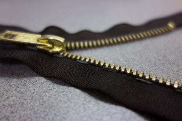 Simple Zipper Potentiometer