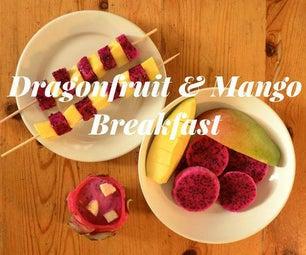 Dragonfruit & Mango Breakfast