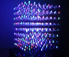 RGB 8x8x8 LED Cube