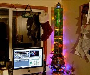 Tesla Tornado Christmas Tree
