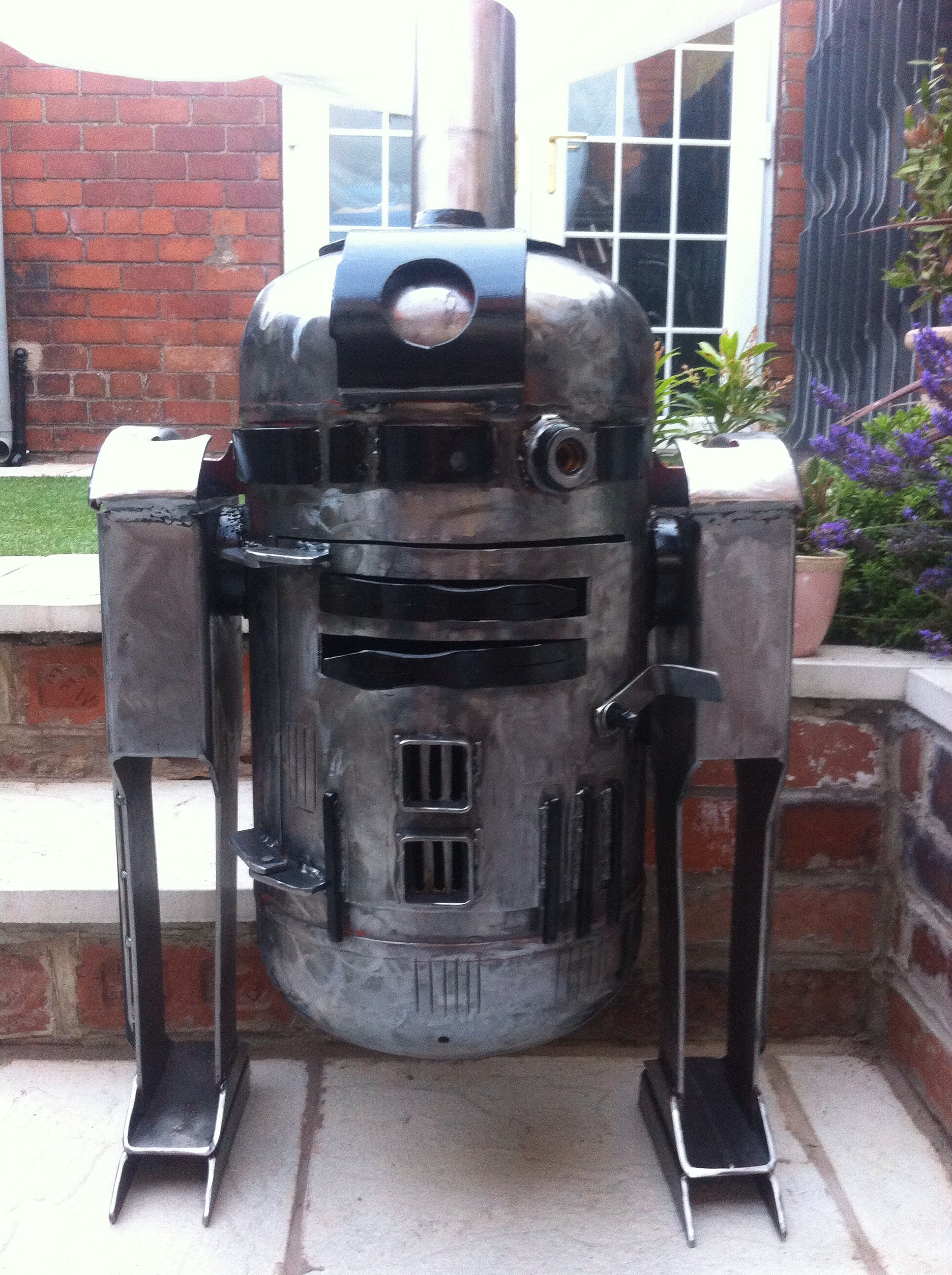 R2D2 Style Wood / Log Burner