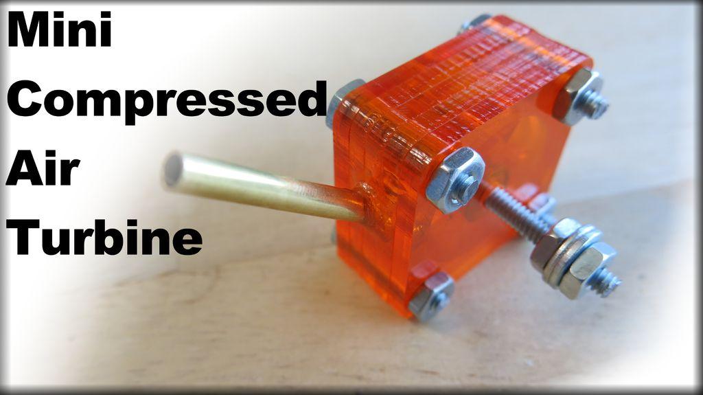 Wie man einen Mini Druckluftturbine