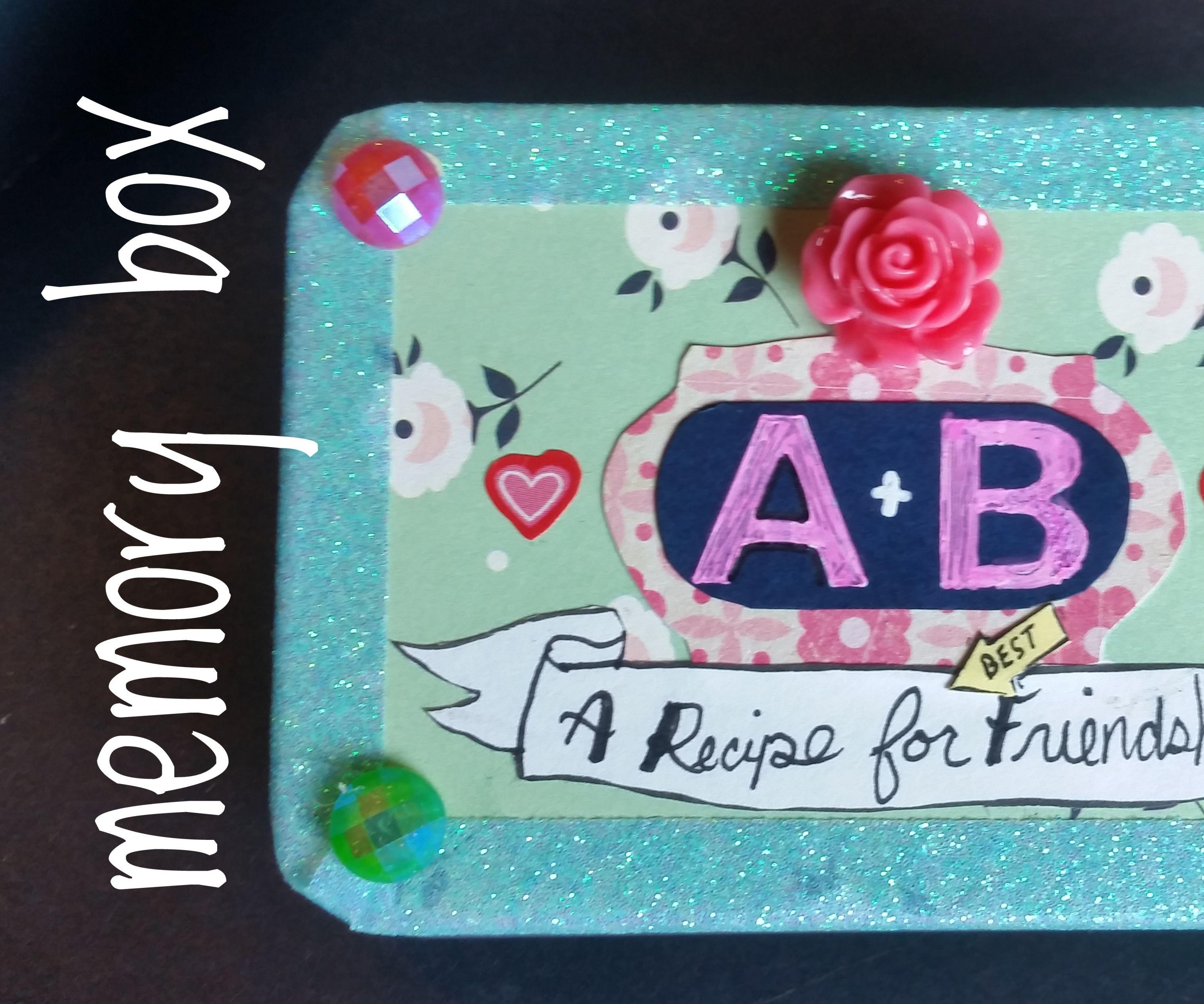 BFF Memory Box