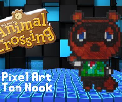 Pixel Art: Animal Crossing Tom Nook
