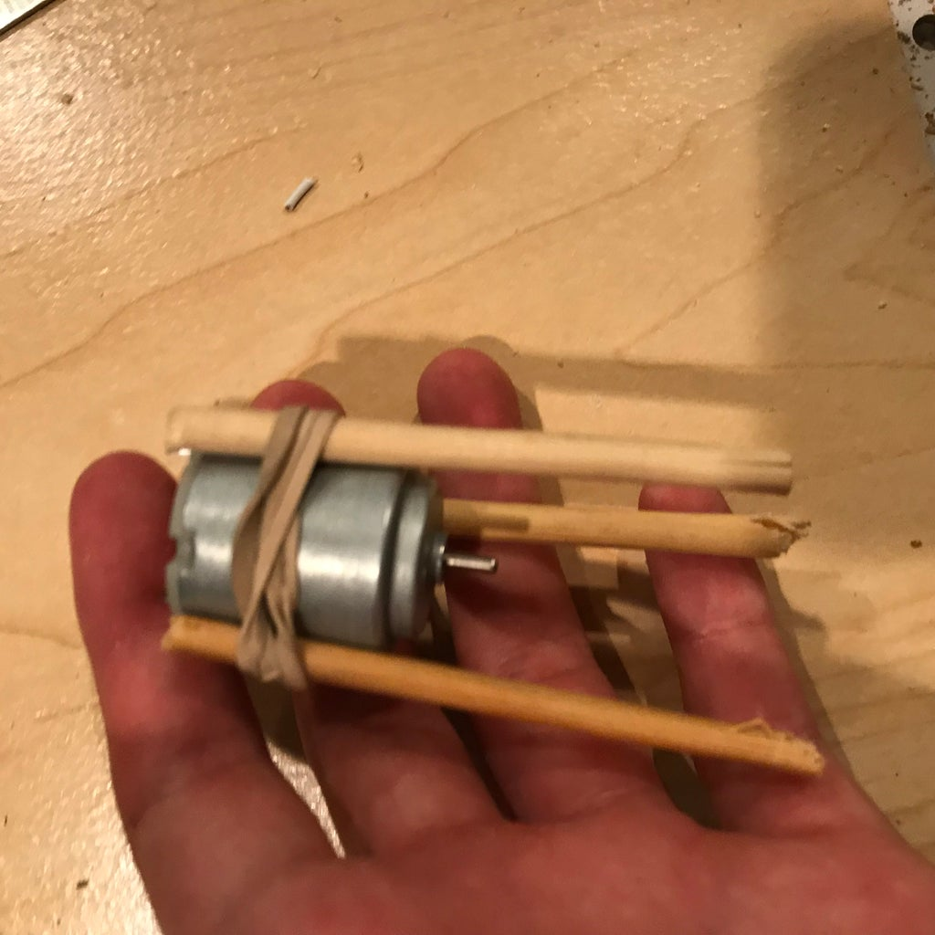 Assemble the Base Motor.