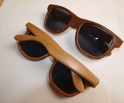 Wooden sunglases