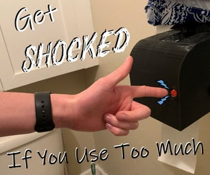 The Paper Preserver: Save Toilet Paper With Shock Therapy
