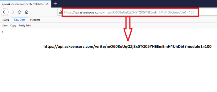 Type the URL in Web Browser