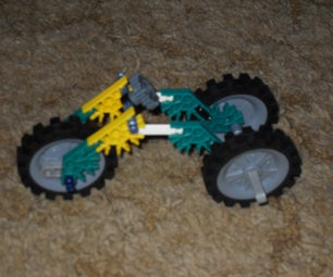 Easy 3 Wheel Knex Motorcycle