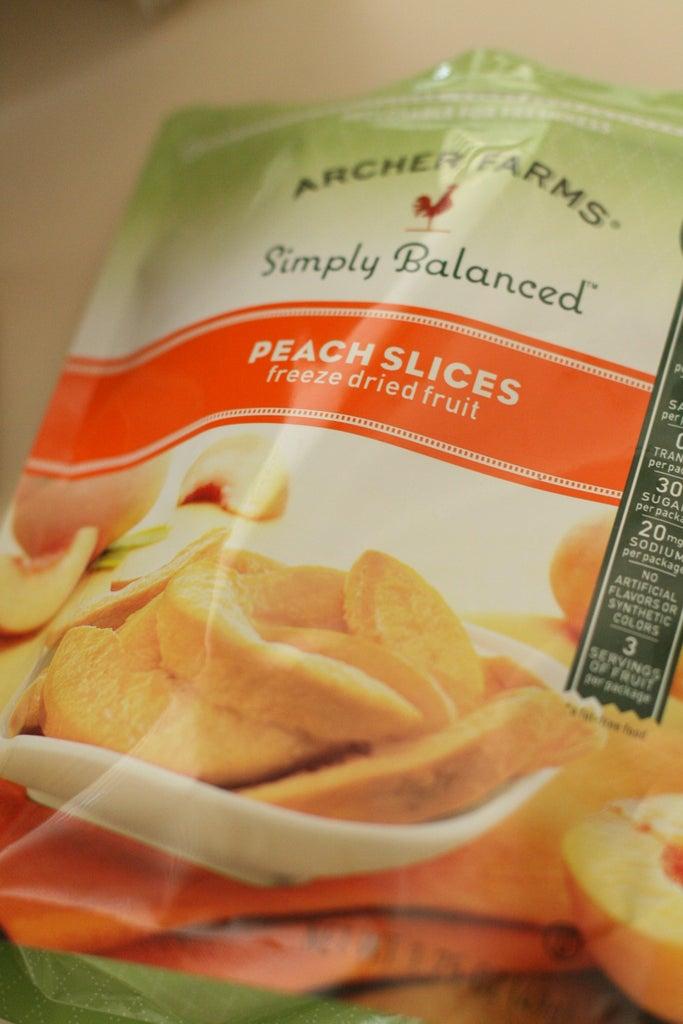 Peach Cupcake - Ingredients