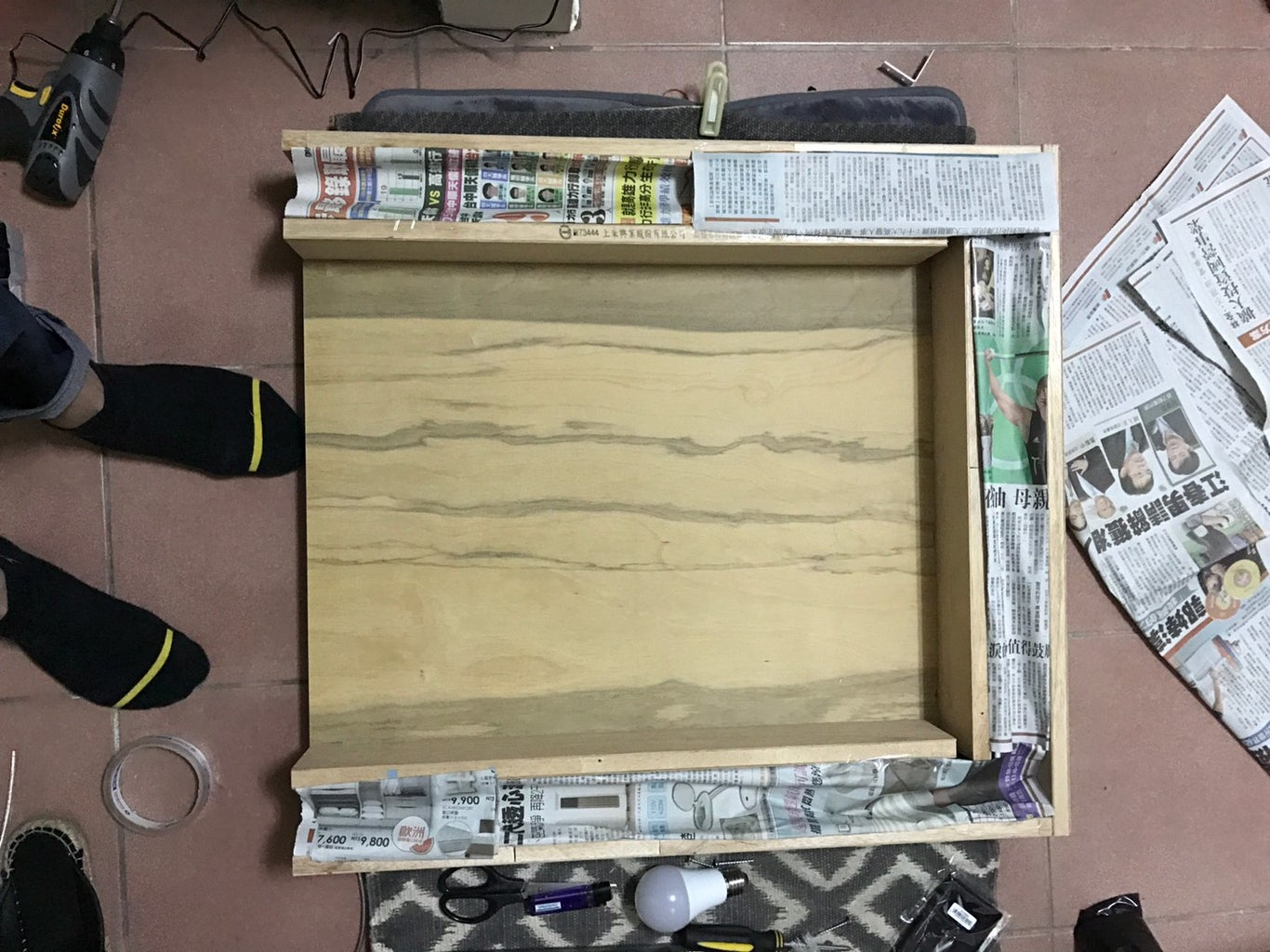 Spray a Layer of Clear Paint