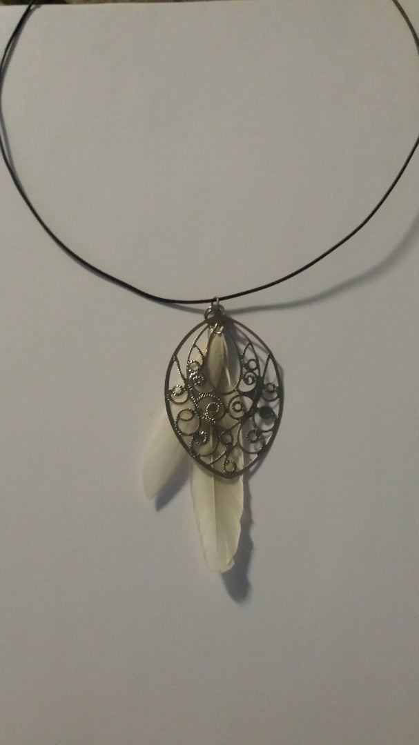 Super Simple Wire Necklace