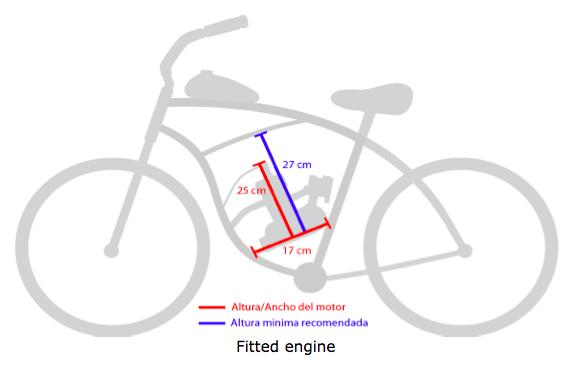 80cc BICYCLE motorized ENGINE KIT
