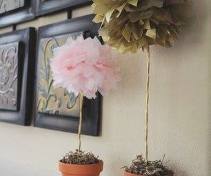 The Everlasting Tissue Paper Topiary