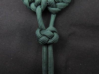 Make a Lanyard/diamond Knot
