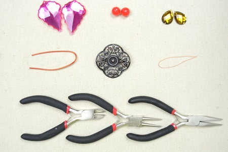 Materials Needed in Making a Wire Wrapped Butterfly Brooch:
