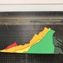 Geographic Regions of Virginia Map