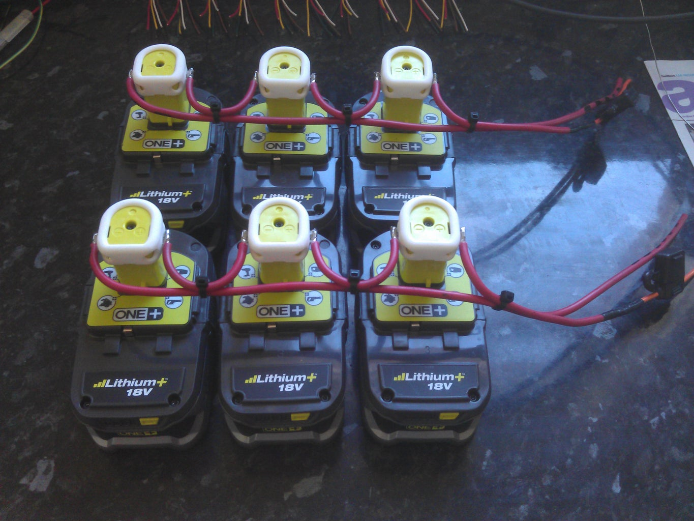 Finish Battery Terminals