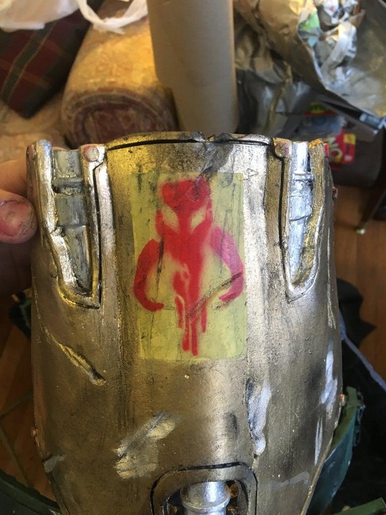 Battle Damage, Paint and Attachment