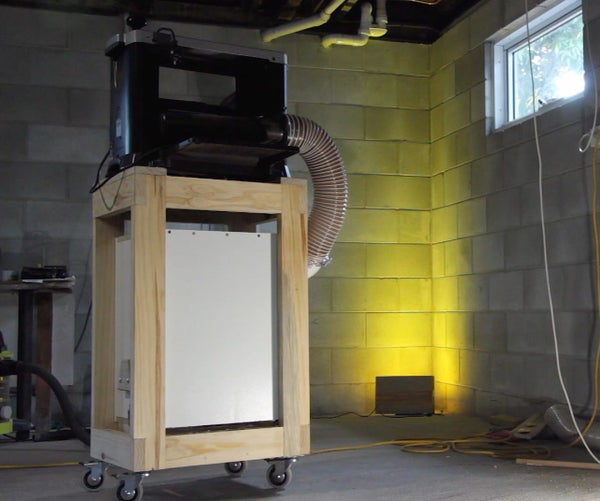 Mobile Planer Cart With Dust Collector