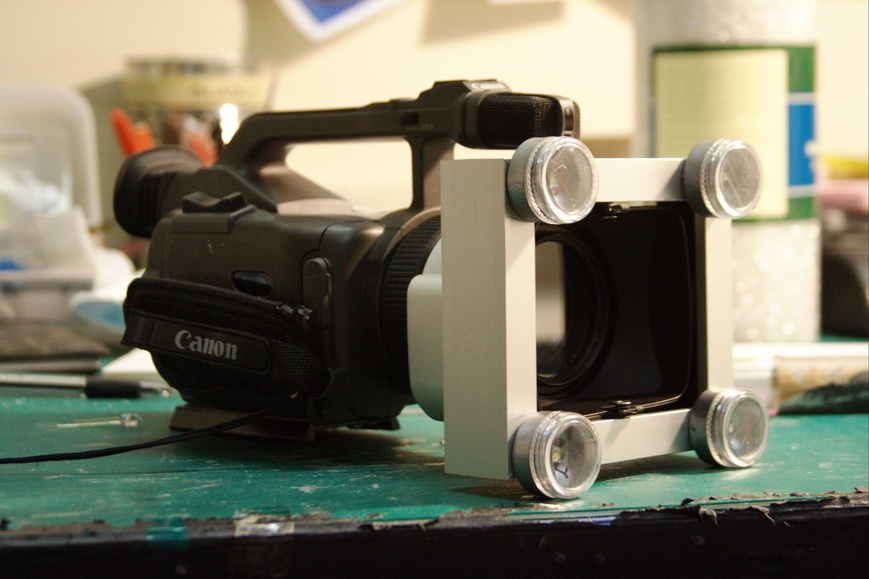 The Intimate Video Light/ Handheld photograpy light.