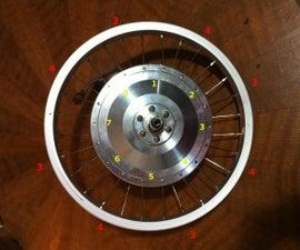 DRAFT 36 Hole EBike Motor in a 28 Hole Rim