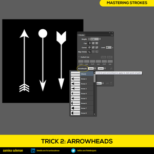 Trick 2: Arrowheads — Giving Direction to Stroke
