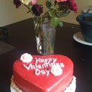 Valentines Day Cake!!! (can be used for anniversary's or proposals)