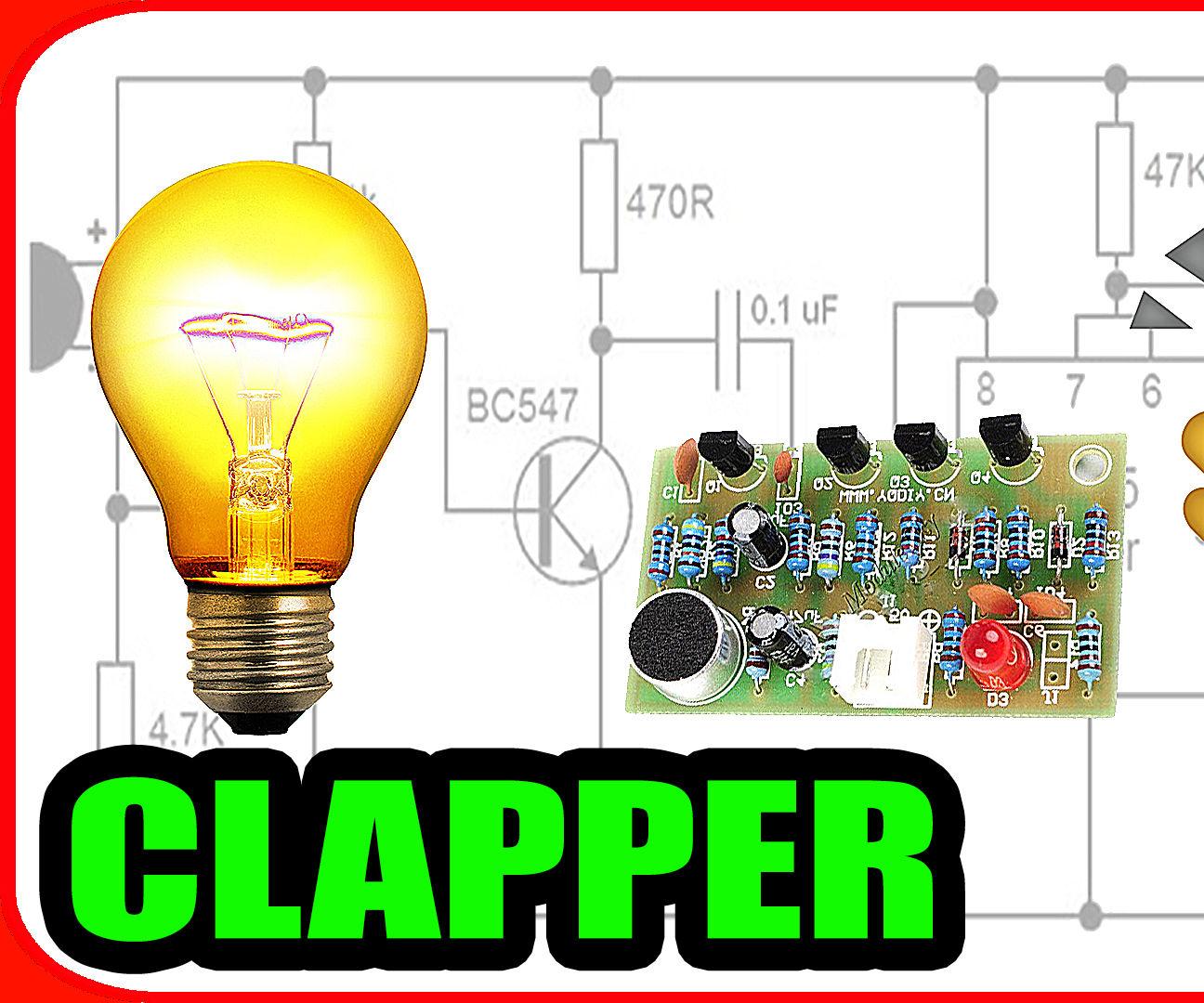 Let's Make a Clap Switch Circuit