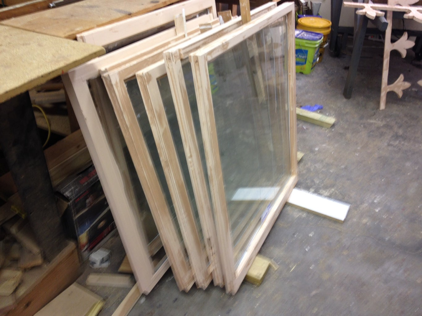Preparing the Windows, Doors, and Trim Pieces for Installation