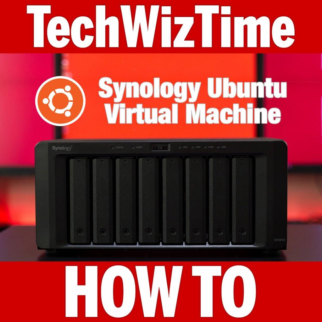 Ubuntu Virtual Machine in a Synology NAS