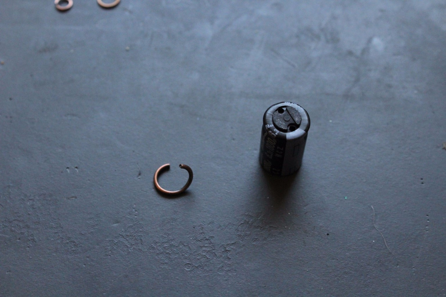 Making Charms From Capacitors