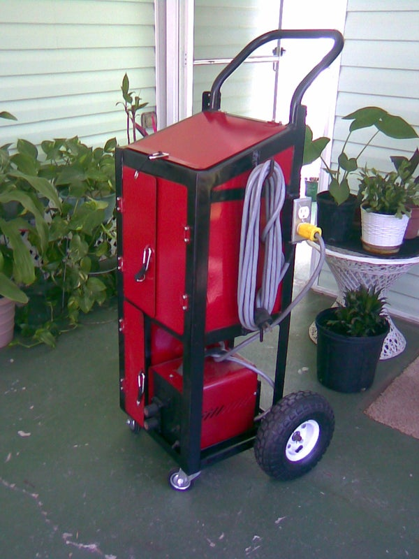 "My ""Custom"" Welding Cart"