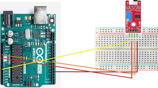 Wiring the Linear Hall Sensor