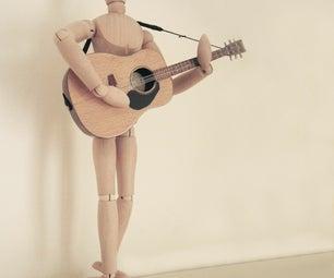 "Miniature Guitar (6.5"" Tall)"