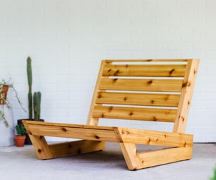 How to Build an Outdoor Lounge Chair