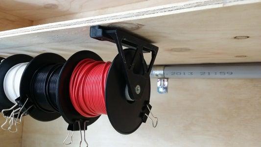 Wire Spool Mount & Slides