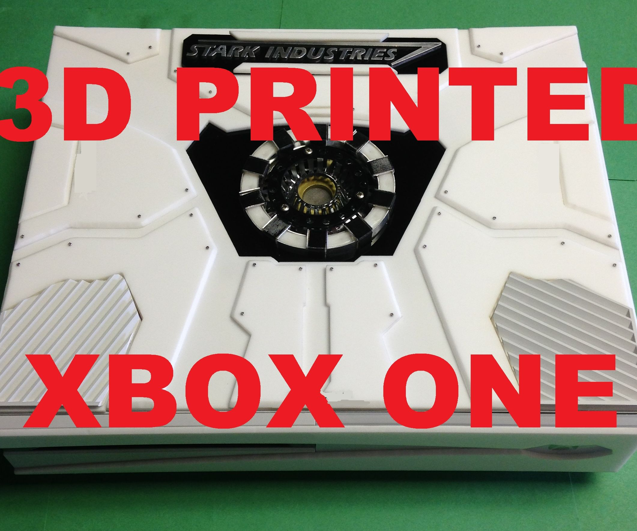 3D Printed Xbox One Iron Man