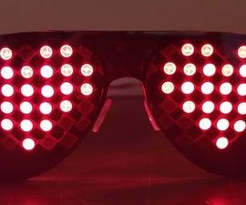 RGB LED Goggles