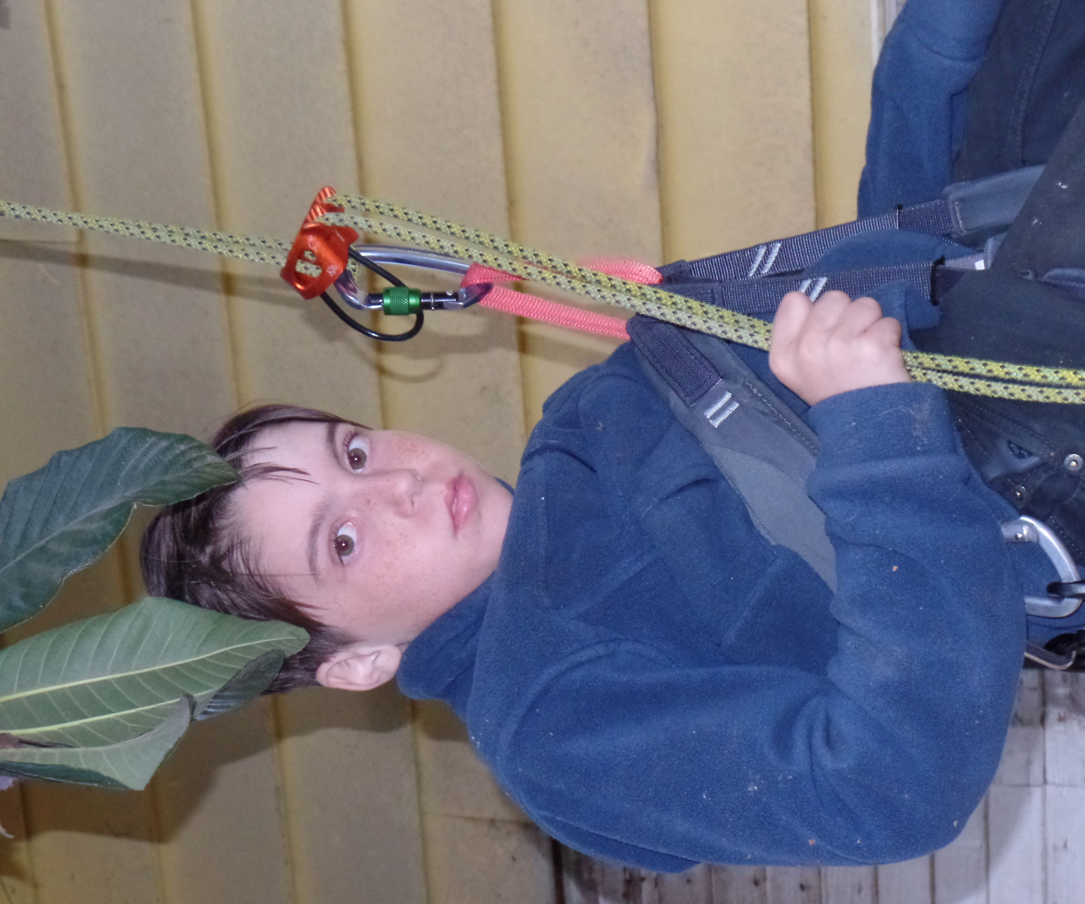 Rappelling a Twin Rope With an ATC Belay Device