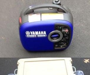 EF2000is Portable Generator Sound Deadening Enclosure Box