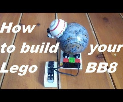 How to Build a Lego BB8, With a Motorized Lego Platform
