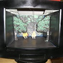 Puppet theater from broken monitor!